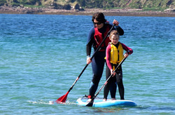Stand Up Paddleboarding at Scapa