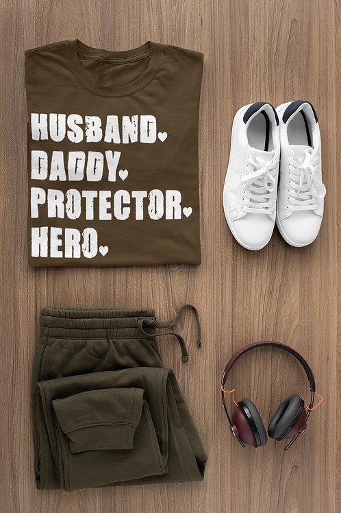 Husband Dad Protector Hero