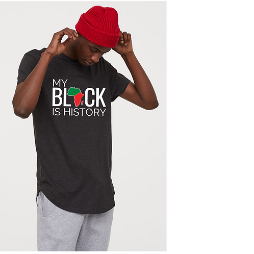 My Black is History