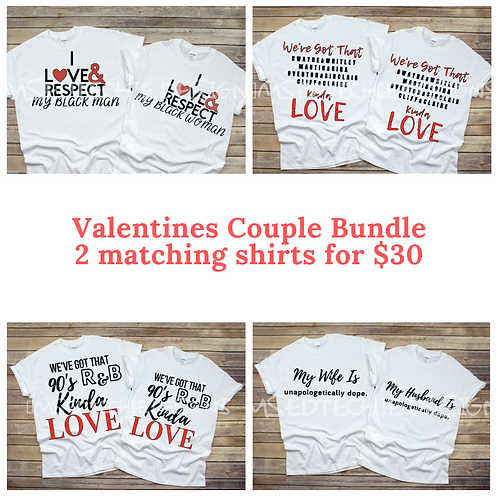 Valentine's Couple Shirts
