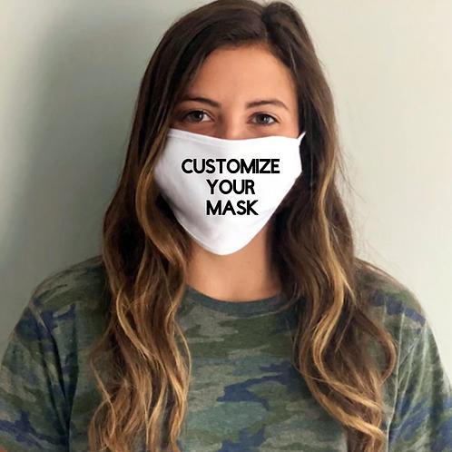 Customized White Mask