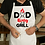 Dad King of Grill White Mockup