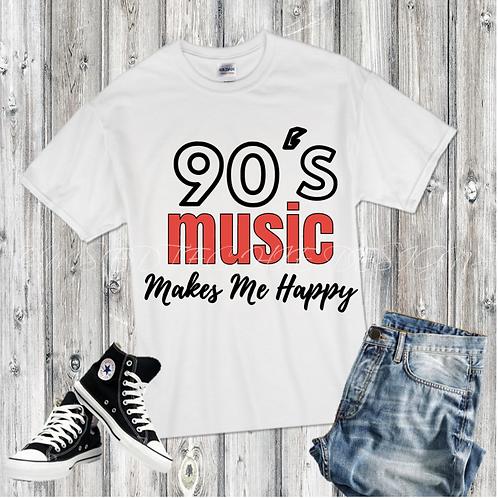 90's Music Makes Me Happy