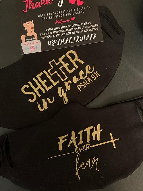 Shelter in Grace & Faith over Fear