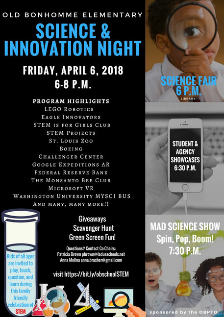 Old Bonhomme Elementary Science & Innovation Night