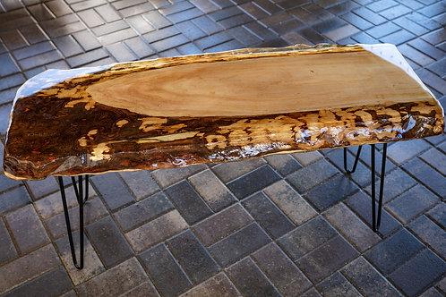 Bark & Epoxy Table