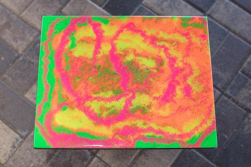 Rainbow Sherbet Plaque