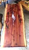 Cedar Table w/Opal Pool