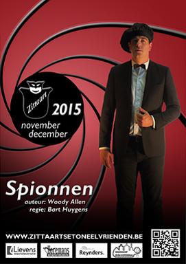 Spionnen (2015) - Zittaarts Toneel