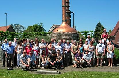 De enthousiaste groep van het Zittaarts Toneel