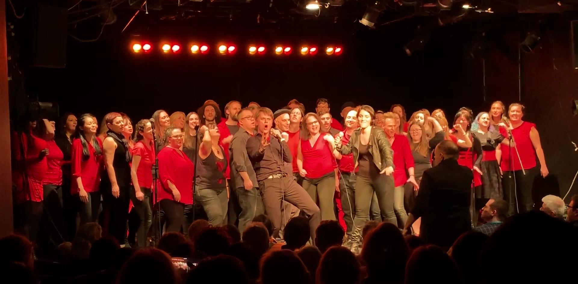 Solo: Gotham Rock Choir Holiday Concert, (in the clip: Dream on by Aerosmith), SoHo Playhouse, NYC