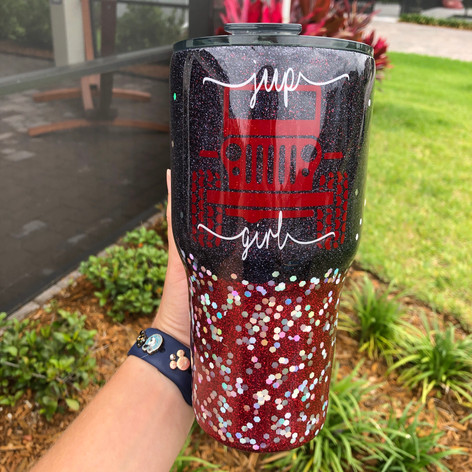 Jeep Girl 30oz Tumbler