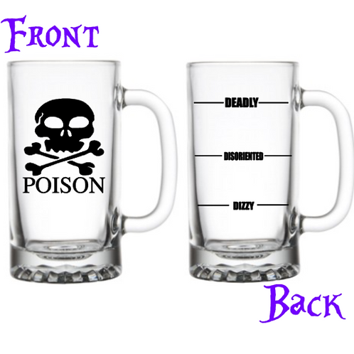 Poison - Beer Mug