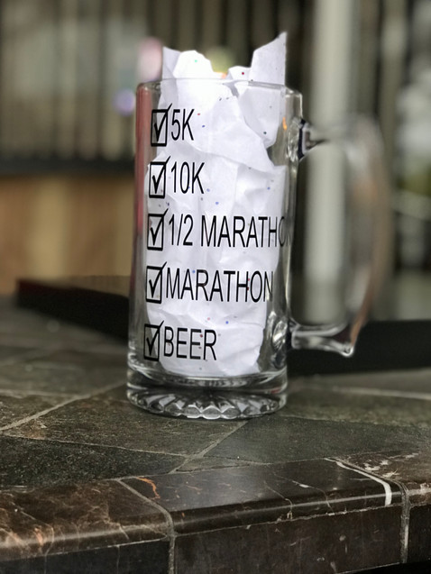 Runner's Large Beer Mug