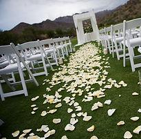 Aisle de mariage