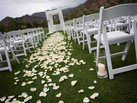 Smart planning tips on outdoor weddings