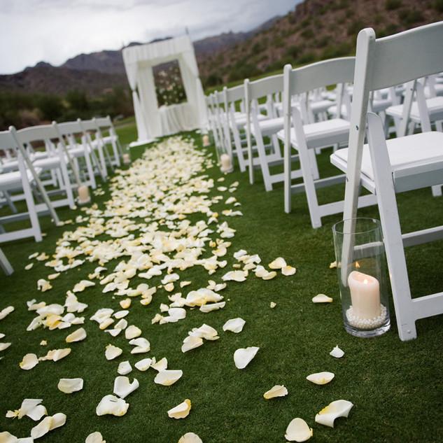 Pasillo de la boda