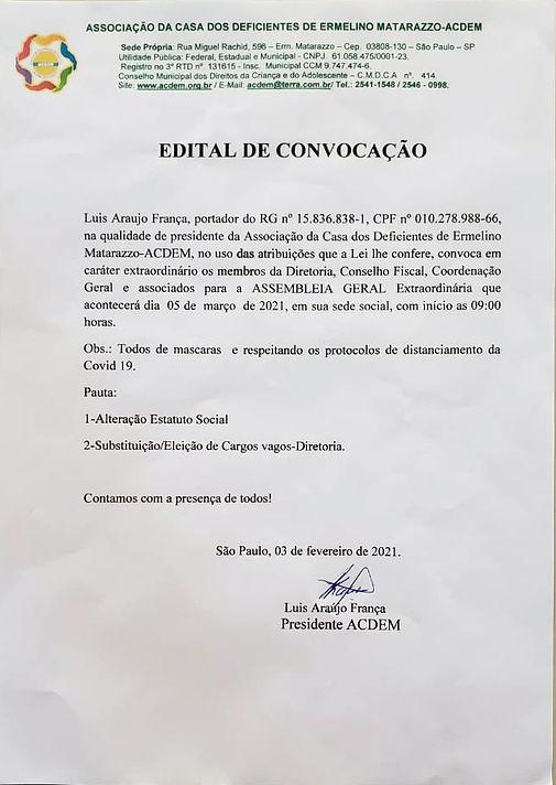 Comunicação a diretoria ACDEM.jpg
