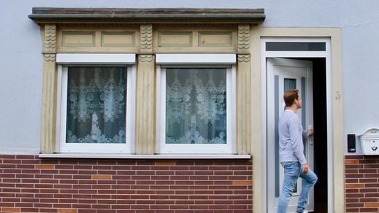 Frontansicht Ferienhaus Frickental