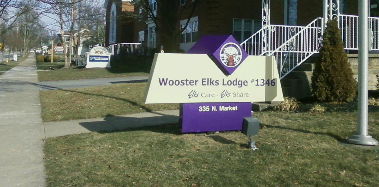 Elks Sign