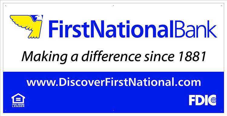 First National Bank Banner