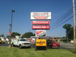 Hartleys Electric Sign