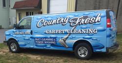Country Fresh van