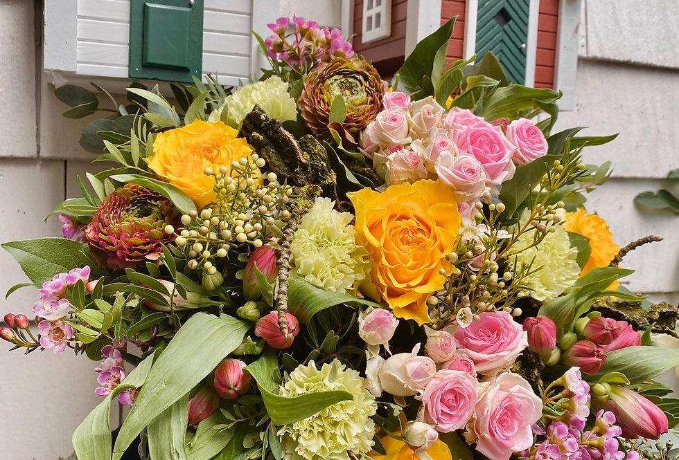 Bouquet multicouleurs