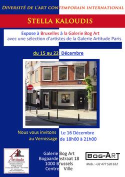 Exposition Bruxelles Stella KALOUDIS