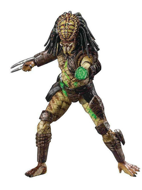 Predator 2 Action Figure 1/18 Battle Damaged City Hunter Previews Exclusive 11cm