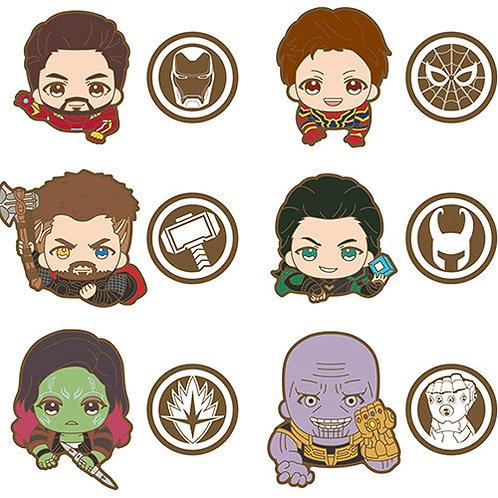 Avengers: Infinity War Rubber Clip A box 6Pack