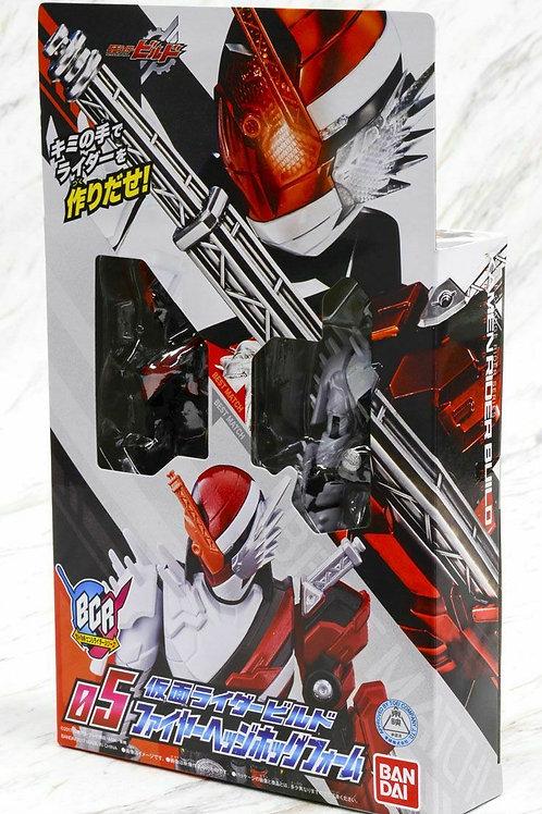 Bottle Change Rider Hero 05 Kamen Rider Build Fire Hedgehog Form