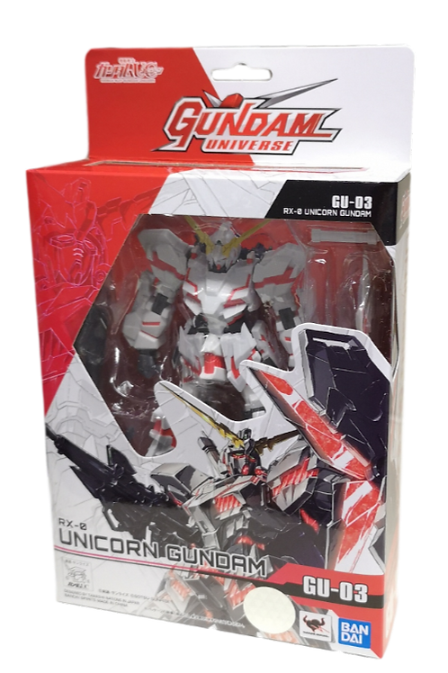 "Mobile Suit Gundam ""Gundam Universe"" Action Figure RX-0 Unicorn Gundam"