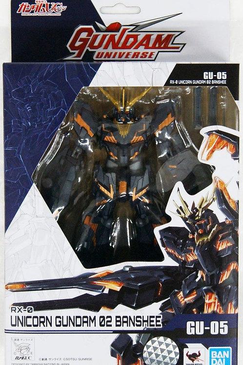 Mobile Suit Gundam Gundam Universe Action Figure RX-0 Unicorn Gundam 02 Banshee