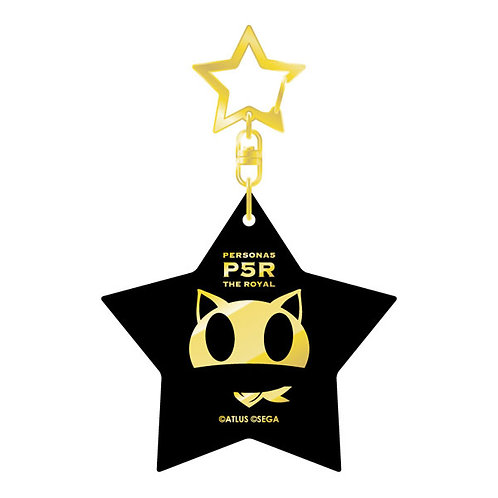 Persona 5 The Royal Hot-stamped Acrylic Keychain MORGANA