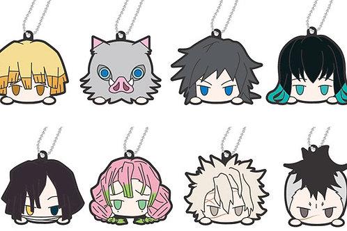"Rubber Mascot Demon Slayer: Kimetsu no Yaiba Odango ""sealed and randomly picked"""