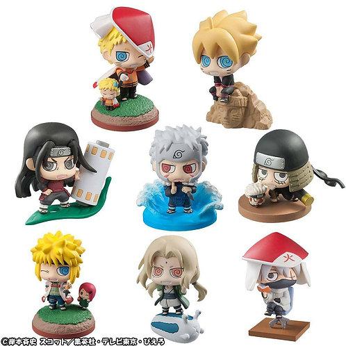Boruto Naruto Next Generation Petit Chara Land Trading Figure 6 cm