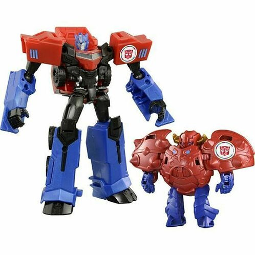 TAV41 Gravity & Optimus Prime With Gravity Armor