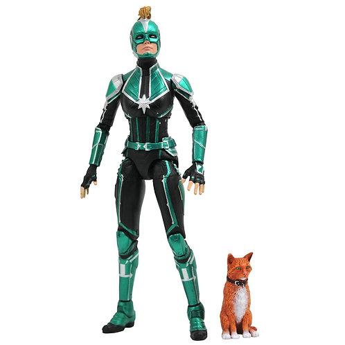 Captain Marvel Marvel Select Action Figure Captain Marvel Starforce Uniform 18cm