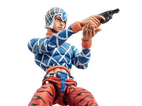 JoJo's Bizarre Adventure Super Action Statue Guido Mista & Sex Pistols Figure