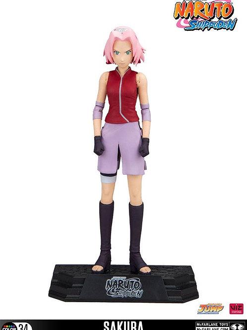 Naruto Shippuden Color Tops Action Figure Sakura 18 cm