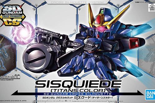 SD Gundam Cross Silhouette Sisquiede (Titans Colors)