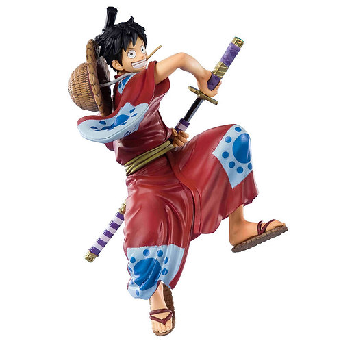 One Piece Monkey D. Luffy Luffytaro figure 14cm