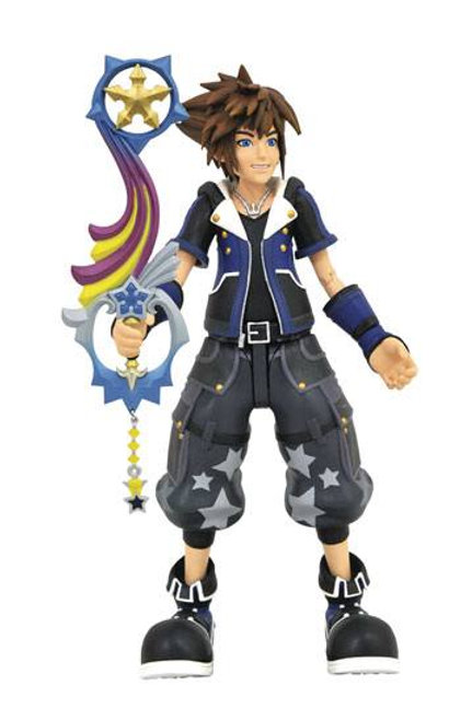 Kingdom Hearts 3 Select Action Figure Wisdom Form Toy Story Sora 18 cm