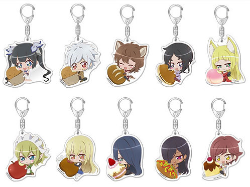 Is It Wrong to Try to Pick Up Girls in a Dungeon? Trading Acrylic Keychain