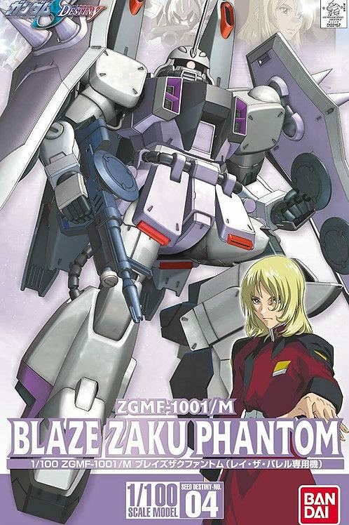 Blaze Zaku Phantom 1/100 ZGMF-1001/M Seed Destiny No04