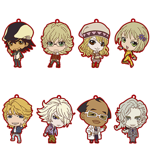 Tiger and Bunny Trading Rubber Strap Keychain Charm