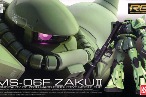 1/144 RG MS-06F ZAKU II