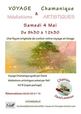 Voyage chamanique & médiation artistique le 4 mai