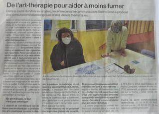 Intervention au Centre de Santé Communautaire Stétho'Scop                               Le 19/11/20